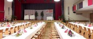 Martinihof Saal, Veranstaltung der AK Burgenland