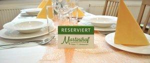 Martinihof Tischreservierung